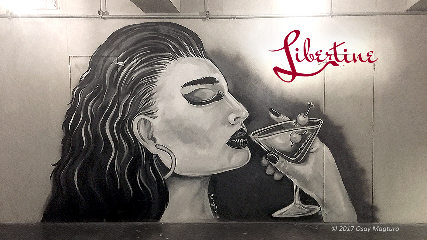 Libertine Bar Artwork